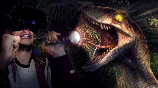 5 Nights With Raptors! - Raptor Valley VR