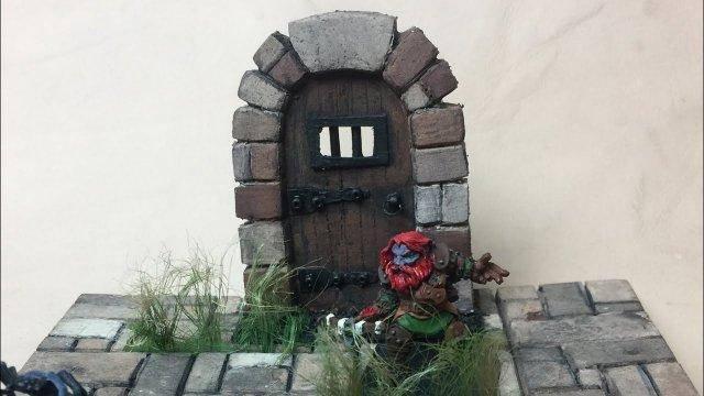 TableTop Crafts # 30 - Dungeon Doors