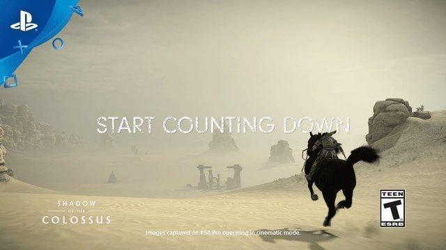 Shadow of the Colossus – PS Store Countdown To Launch | PS4