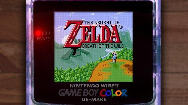 The Legend of Zelda: Breath of the Wild | Game Boy Color De-Make