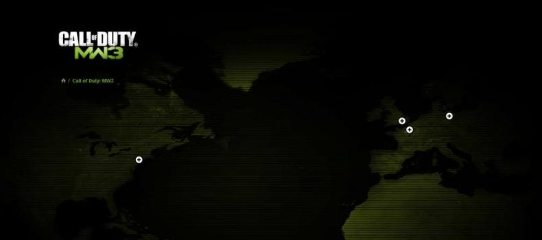 Call of Duty: Modern Warfare 3 Official website launched