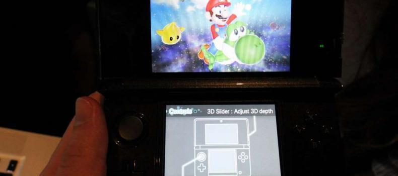 3DS First 3D screenshots available for viewing VIA 3DS