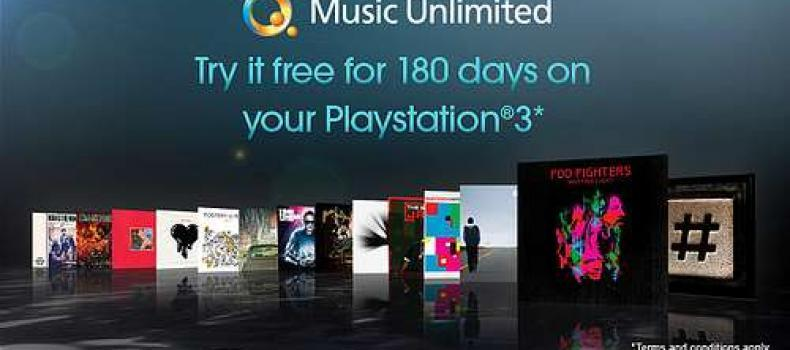Sony offering 6 Month free of Q Music Unlimited
