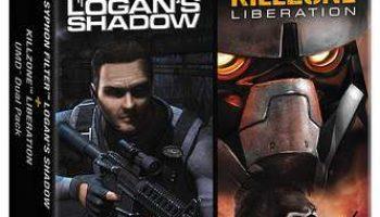PSP DualPack Syphon Filter Logan's Shadow and Killzone Liberation