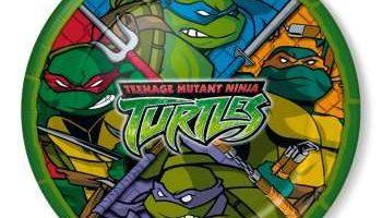 Teenage Mutant Ninja Turtles Dinner Plates