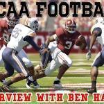 Interview with NCAA Football 12 developer, Ben Haumiller