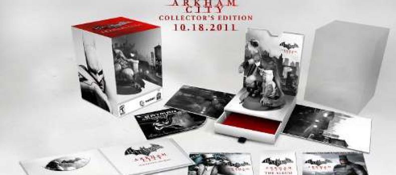 Batman: Arkham City Collector's Edition Revealed