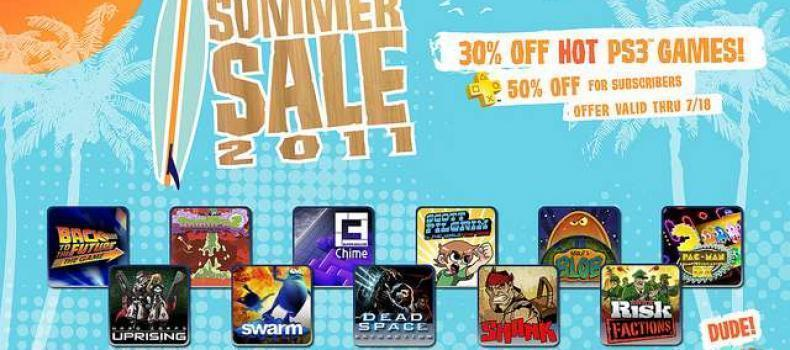 PSN: 30% off 11 games sale starts Tuesday July 12th