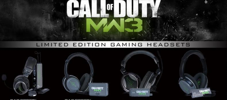 Turtle Beach to Release Limited Edition Call of Duty: Modern Warfare 3 Co-branded Gaming Headsets for Xbox 360, PlayStation 3 and PC