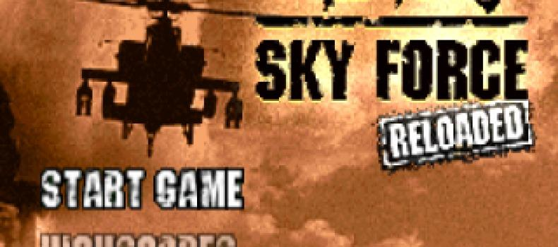 IPhone Game Sky Force Free for a Limited Time