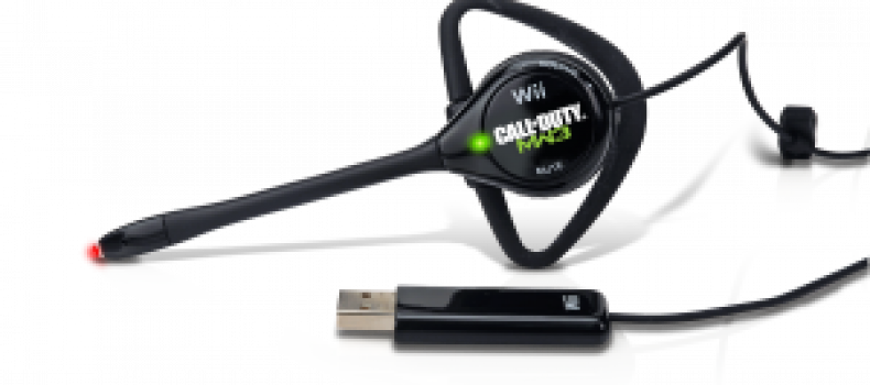 PDP Announces MW3 Wii Headset