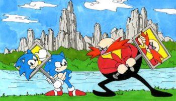 Sonic_CD_Panel_battle_coloured_by_StarRanger