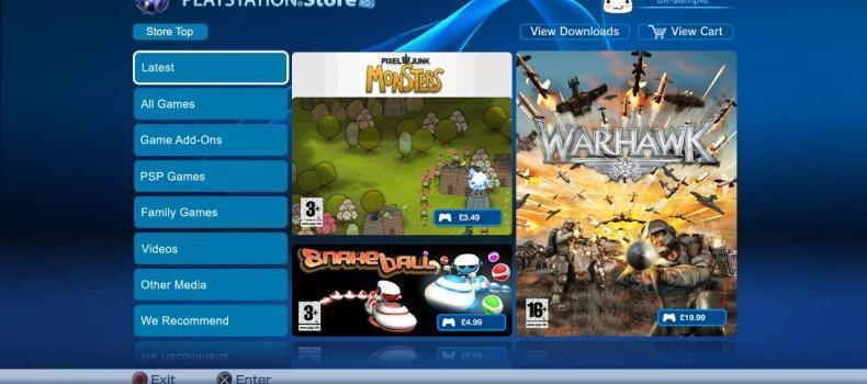PlayStation European Store Update – 2/1/12