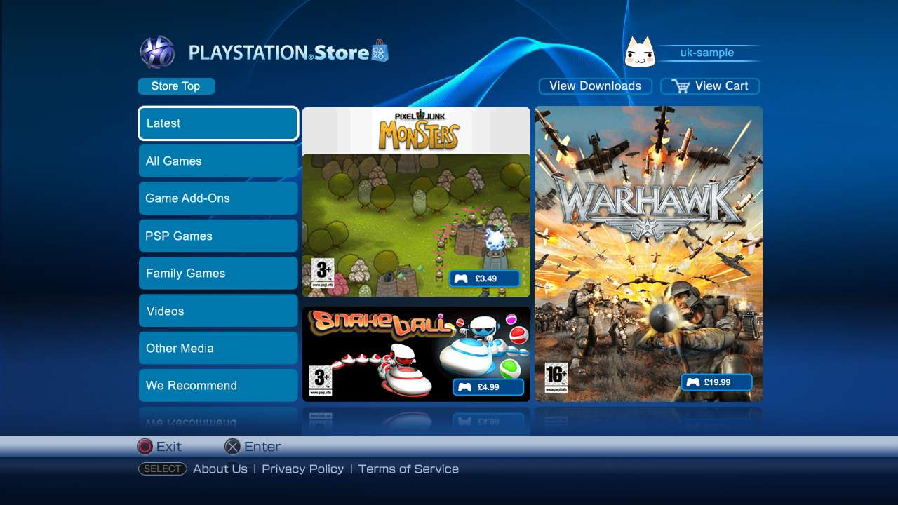 PlayStation European Store Update – 12/21/11