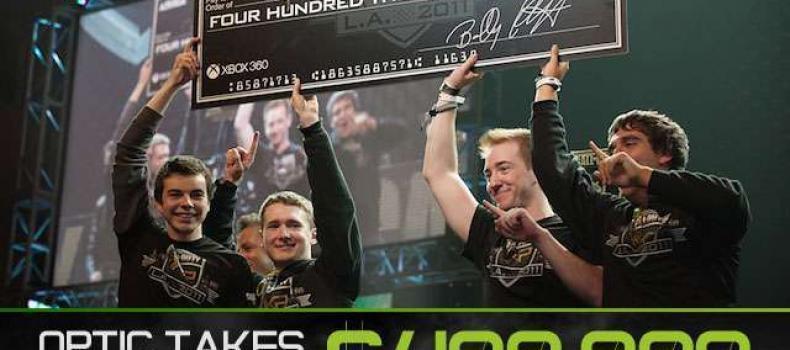 OpTic Gaming takes home 400k @ CoD-XP