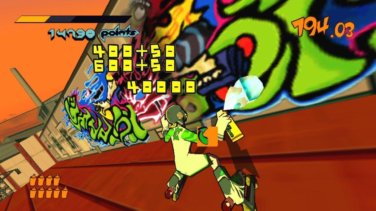Jet Set Radio Announced for the PS Vita