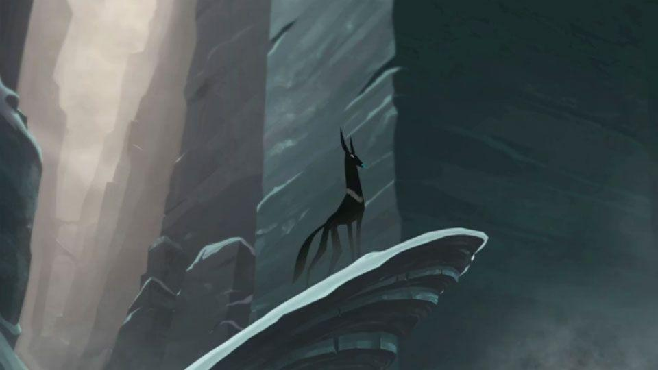 Le Lac Gele – Animated Short Video