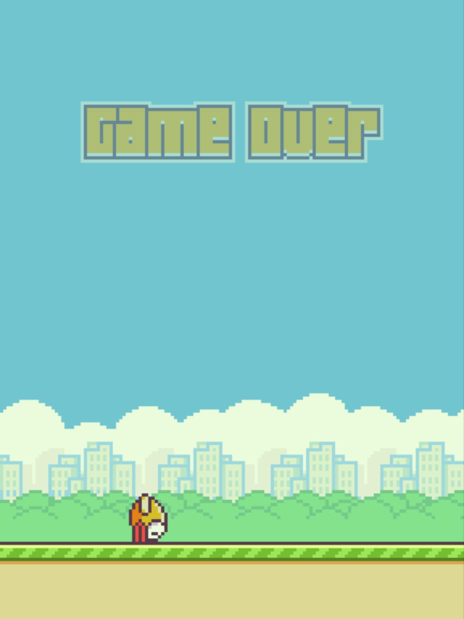 Flappy Bird in his Natural Habitat