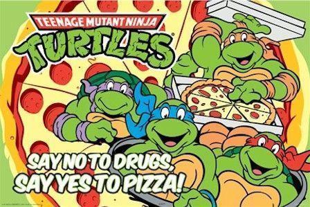 cartoon-teenage-mutant-ninja-turtles-yes-pizza-poster-AQU24894