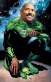 The Rock as John Stewart