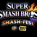Super Smash Bros. for Wii U demo at Best Buy during week of E3