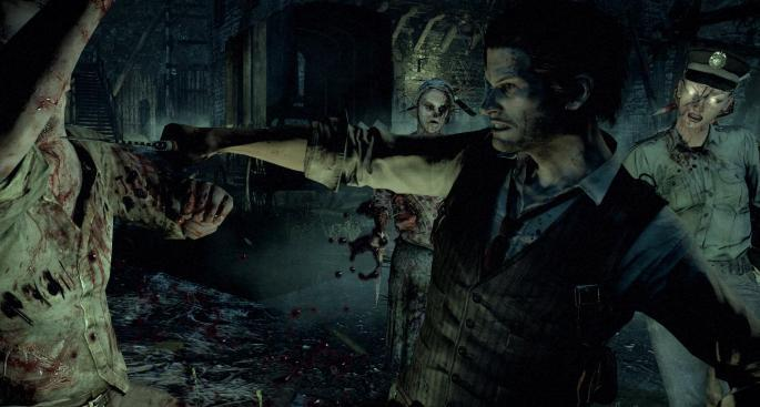 The Evil Within - village knife fight