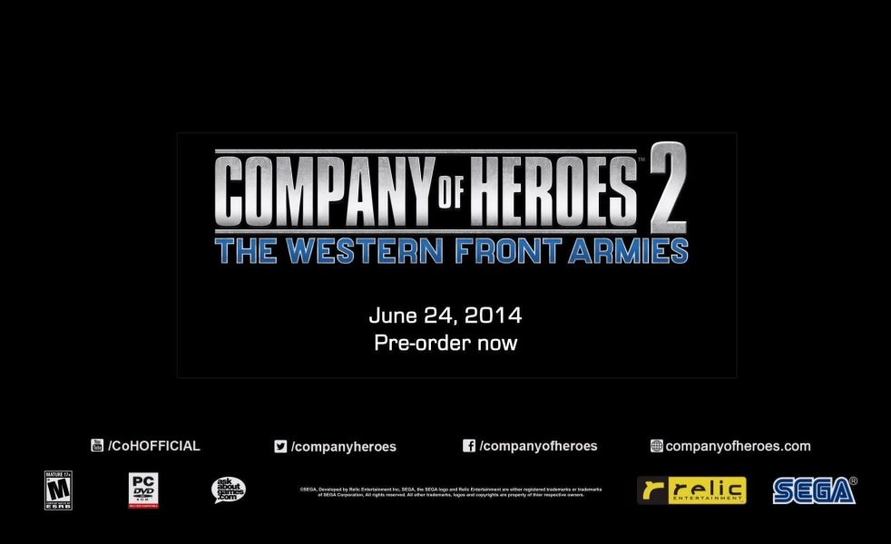 Company of Heroes 2 Expansion Coming In June