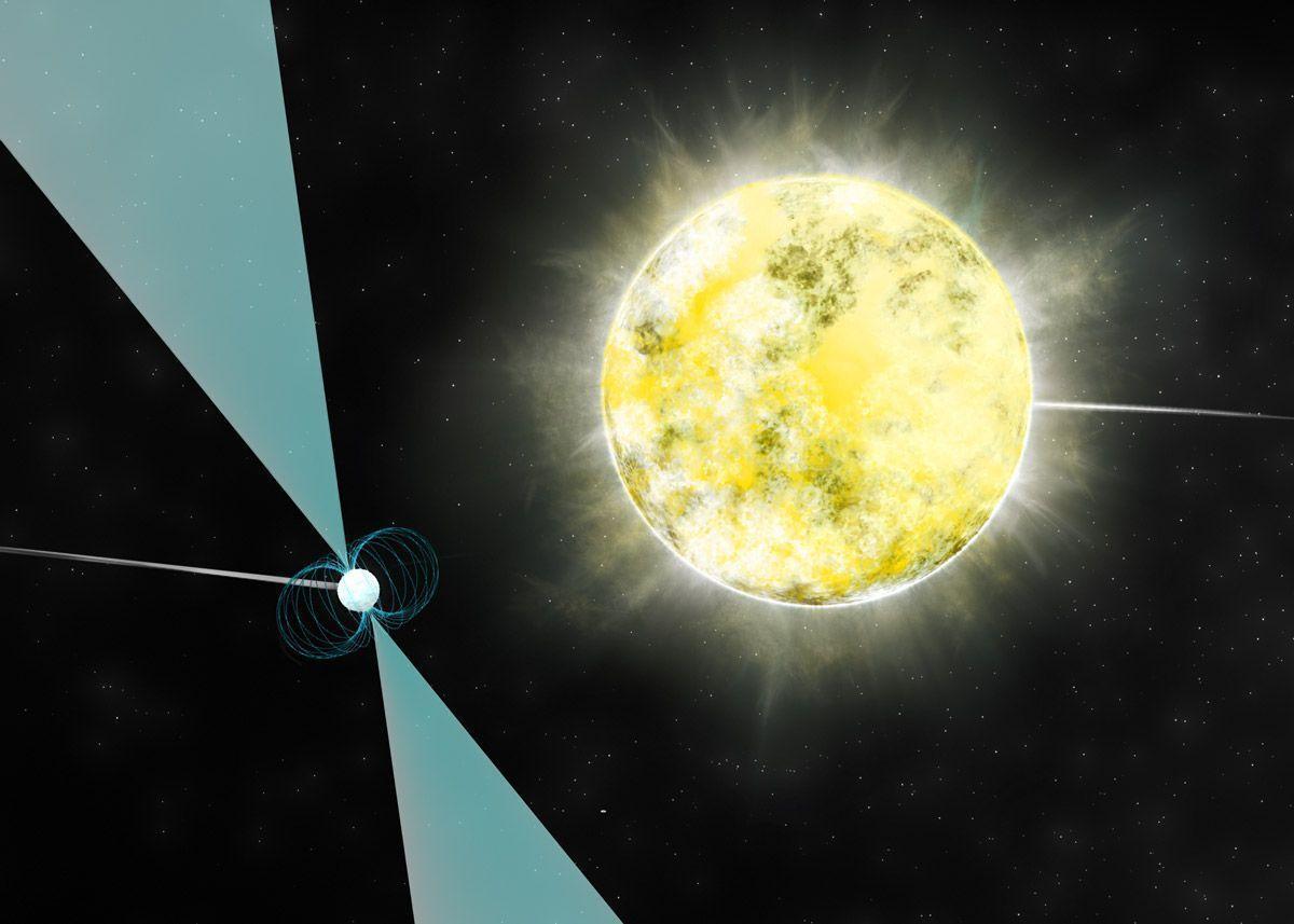 Cold White Dwarf Star