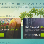 GOG.com Launches 2014 Summer Sale