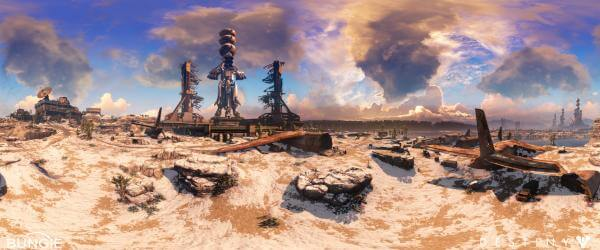 Destiny Cosmo Panorama