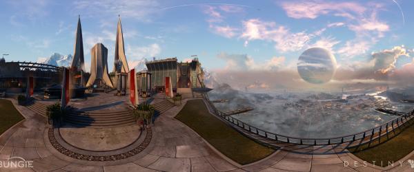 Destiny Tower Panorama