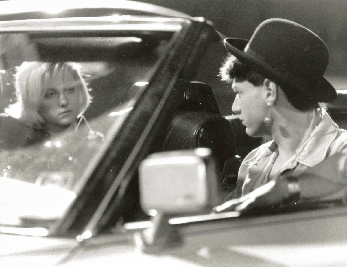 "J.J. Cohen and Lezlie Deane in ""976 -EVIL"""