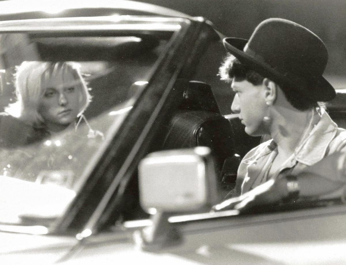 """J.J. Cohen and Lezlie Deane in """"976 -EVIL"""""""