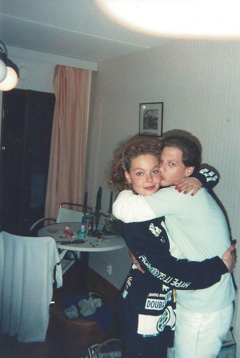 Nina, Helsinki Finland Jan 1991 (2)