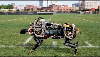 This Will End Well: Military Funds Silent Robotic Cheetah