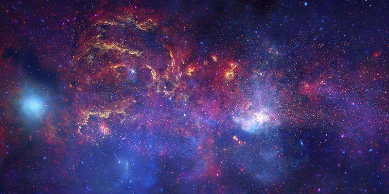 Milky Way Galaxy Composite Image