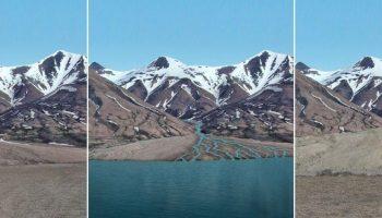 Mars Lake Mount Sharp Artist's Impression