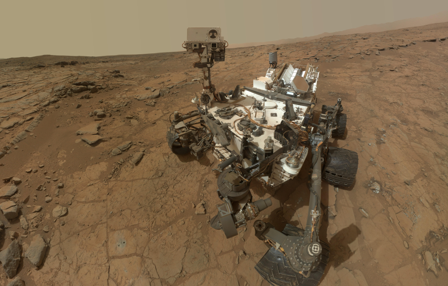 The 'Building Blocks of Life' Detected on Mars