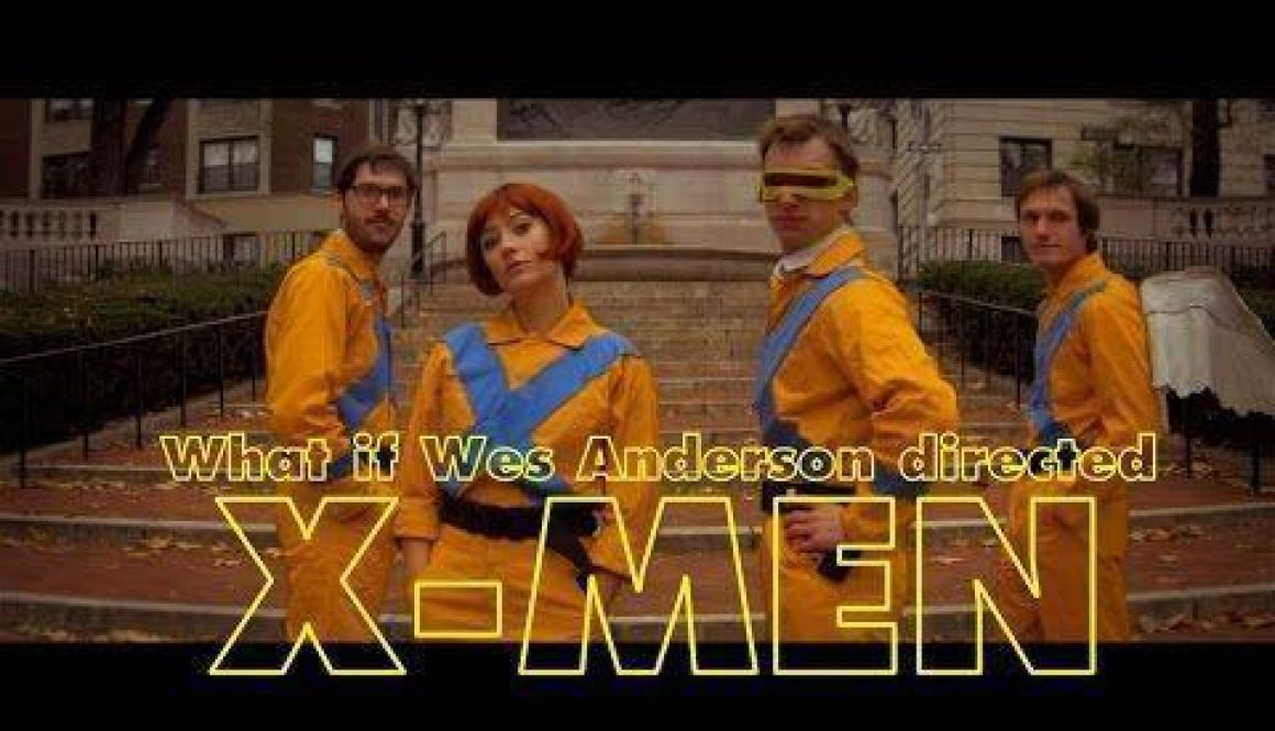 Welcome to Wes Anderson's X-Men