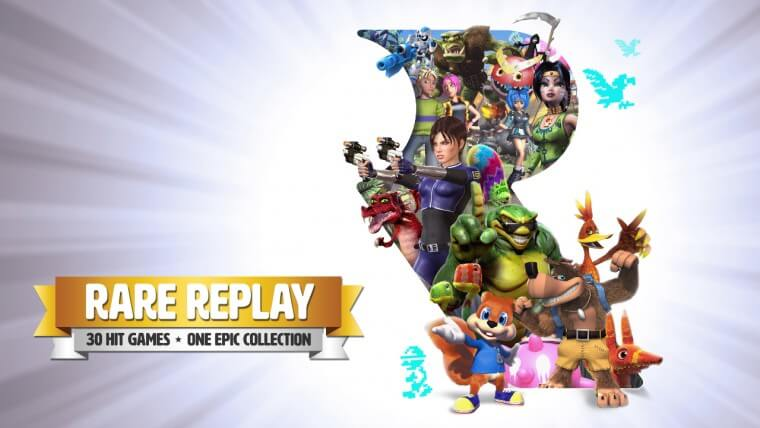 Full Rare Replay Installation Size Detailed