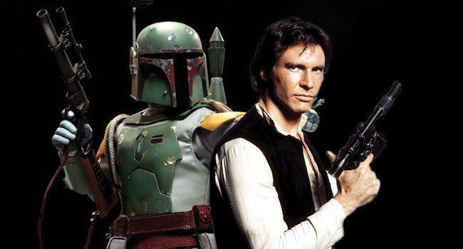 Star Wars Anthology - Boba Fett Han Solo
