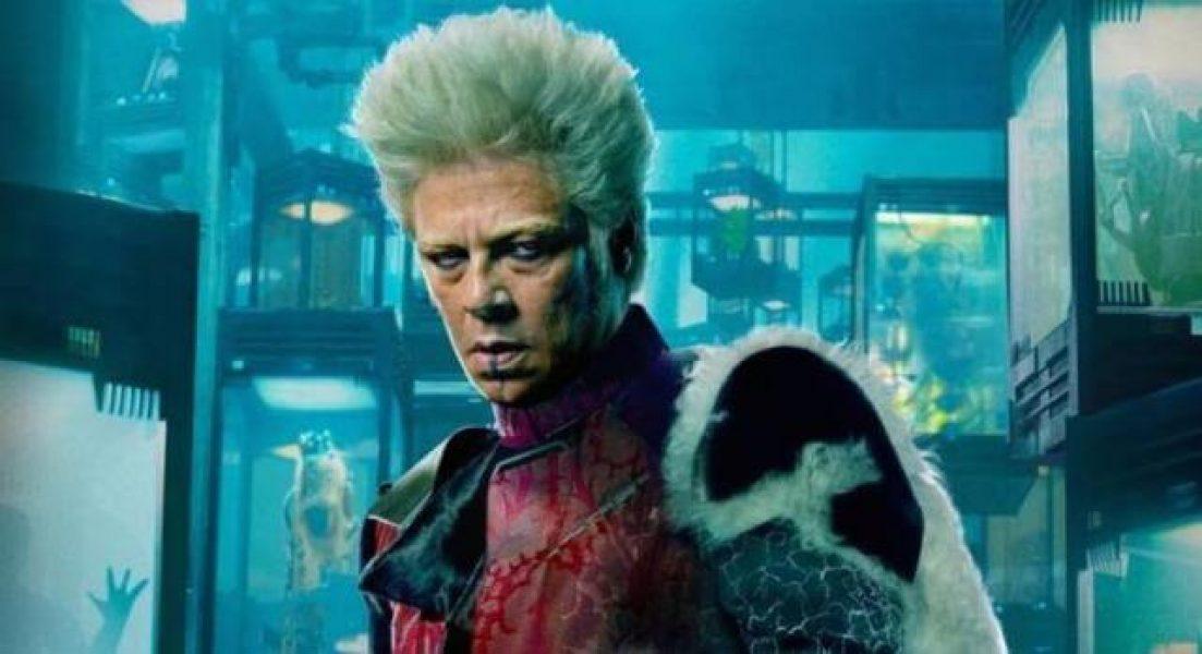 Benicio del Toro as The Collector; Star Wars: Episode VIII