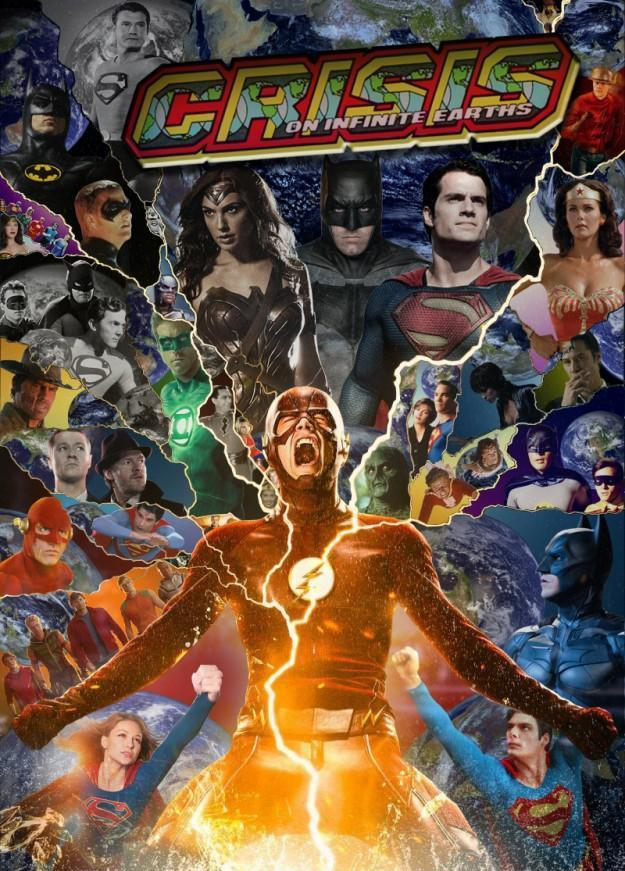 Dc Comics Fans : Fan made crisis on infinite earths asks the question many