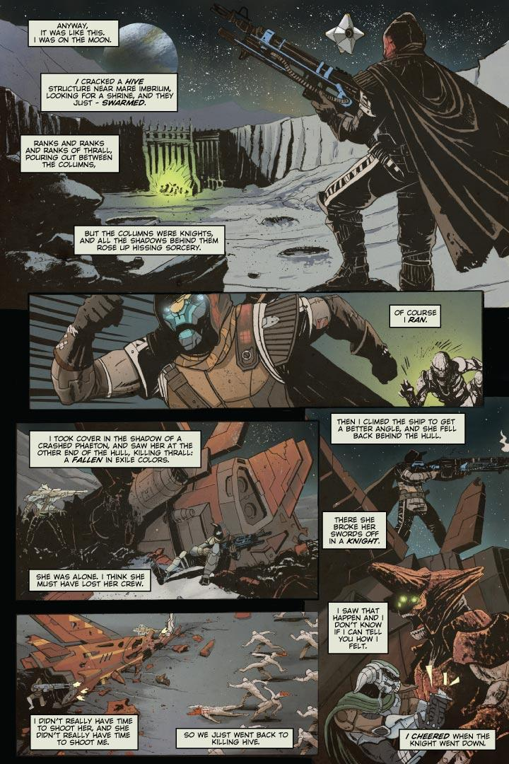 Destiny - Cayde-6 Comic