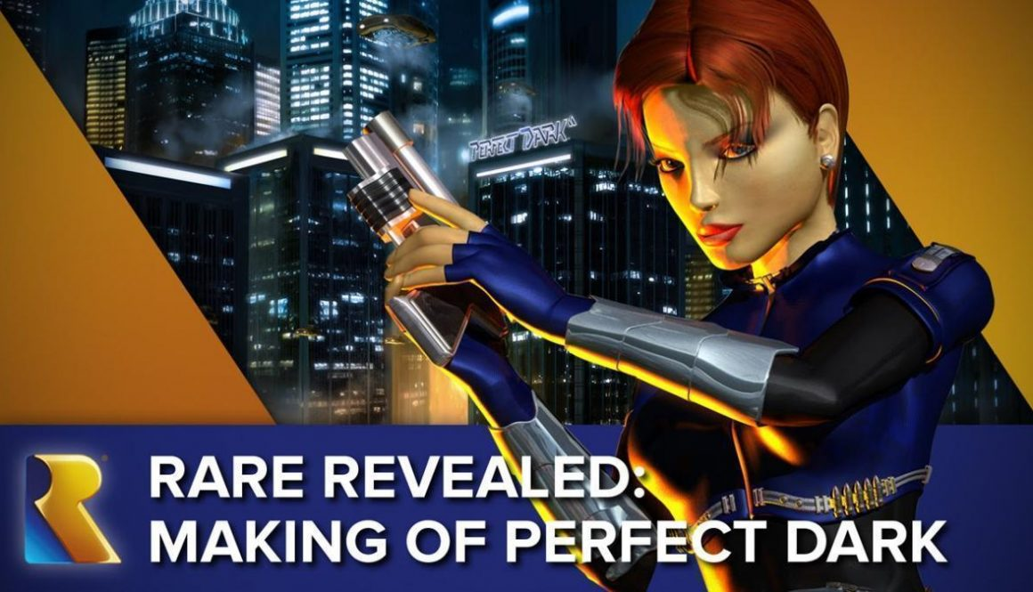 New Rare Video Reveals The Making Of Perfect Dark