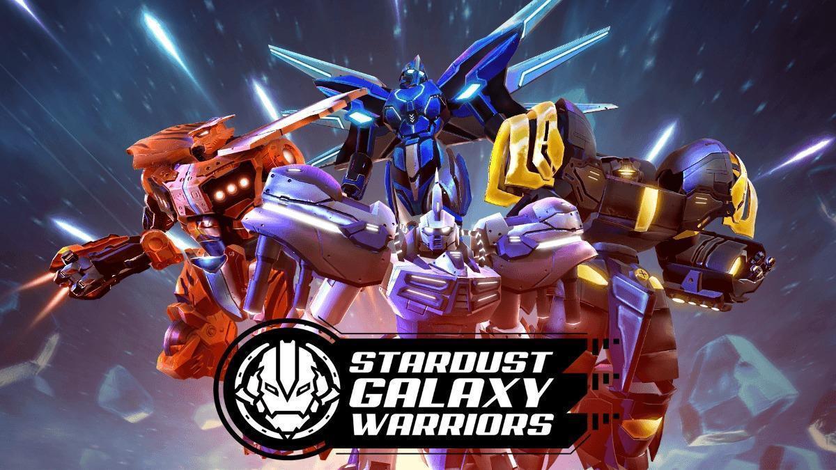 Stardust Galaxy Warriors Logo
