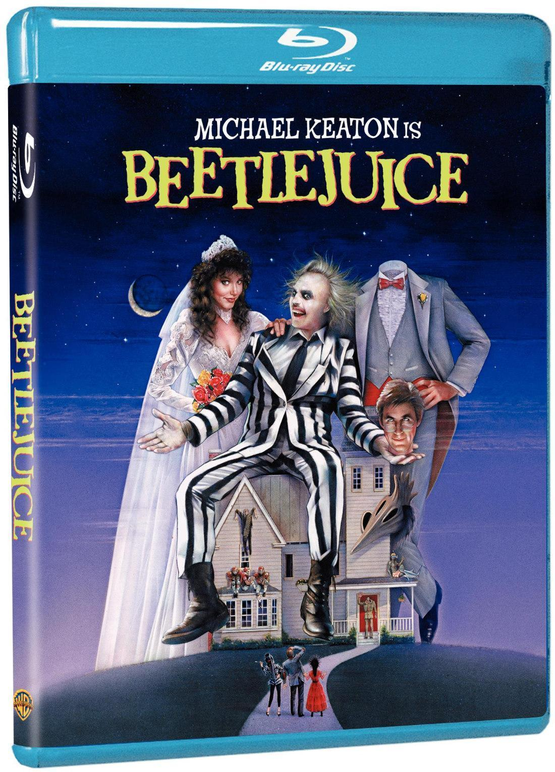 Beetlejuice 20th Anniversary Deluxe Edition Blu Ray Review