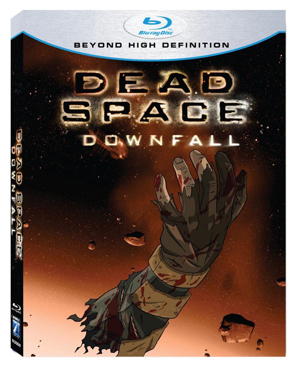 Dead Space Downfall Blu Ray Review Popgeeks Com