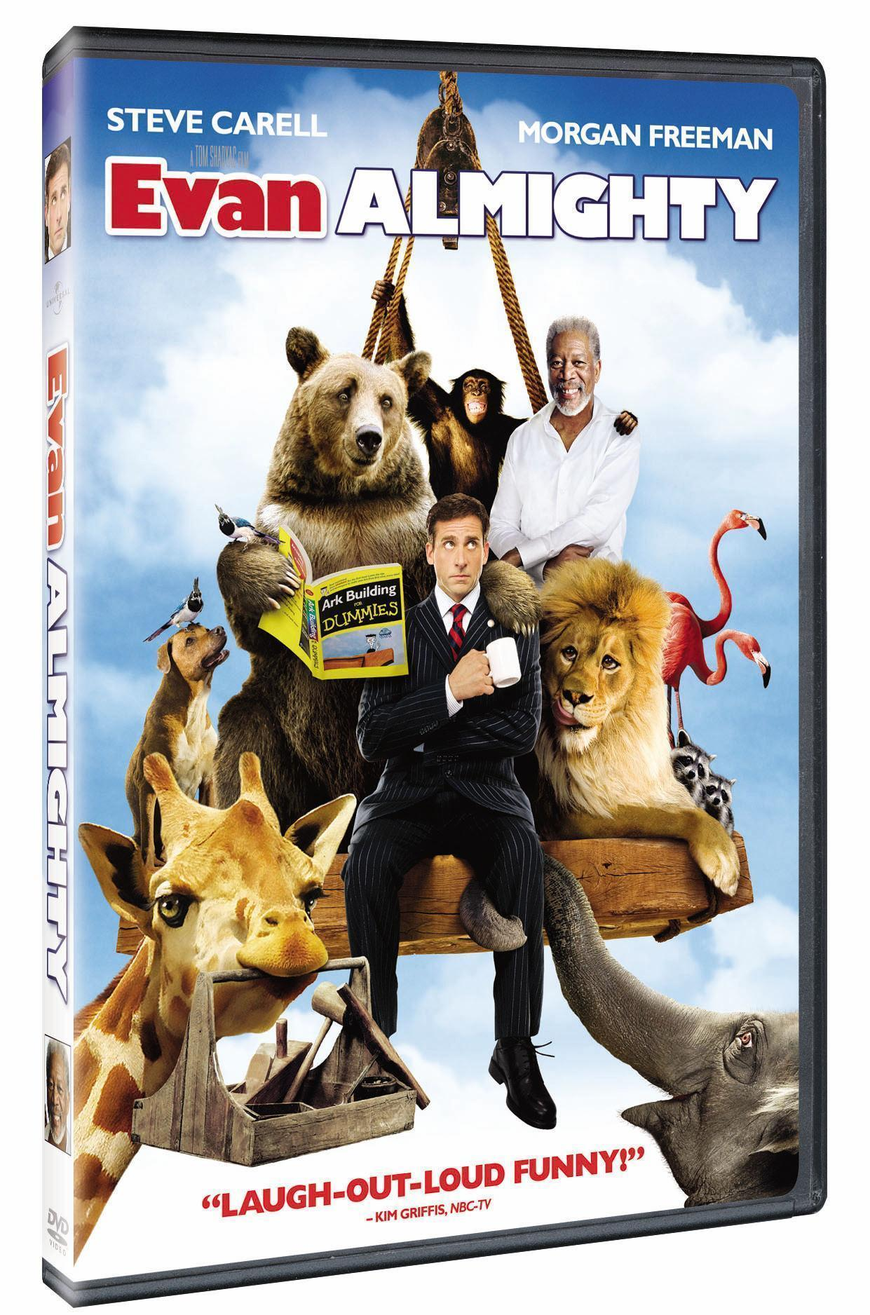 Evan Almighty Dvd Review Popgeekscom