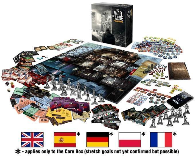 This War Of Mine Board Game Gets Kickstarter Funded